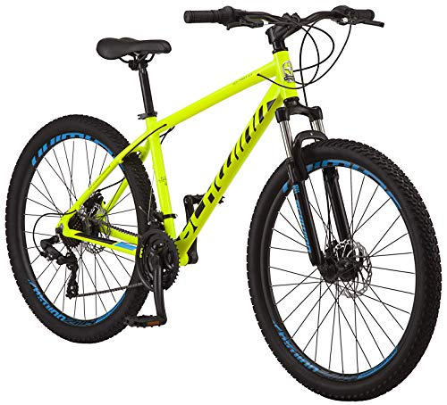 Schwinn High Timber ALX Youth/Adult Mountain Bike, Aluminum Frame and Disc Brakes,...