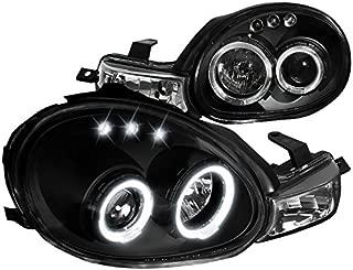 Spec-D Tuning LHP-NEO00JM-TM Black Projector Headlight (Halo Led)