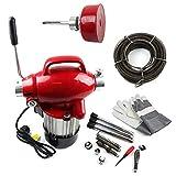 Rohrreinigungsgeräte Rohrreinigungsmaschine Rohr Abflussreinigungsmaschine Elektrische Unblocker 250W 400U/min