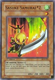 Yu-Gi-Oh! - Sasuke Samurai #2 (DCR-059) - Dark Crisis - Unlimited Edition - Common