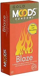 Moods Gold Blaze Condoms 12's