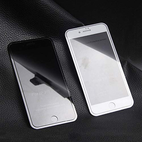 CQBKLXJY 9H Full Cover Privacy Anti Glare Compatible con Apple iPhone 6 6S Plus Protector de Pantalla de Vidrio Templado antiespía Compatible con iPhone 6plus Film Glass [Paquete de 3]