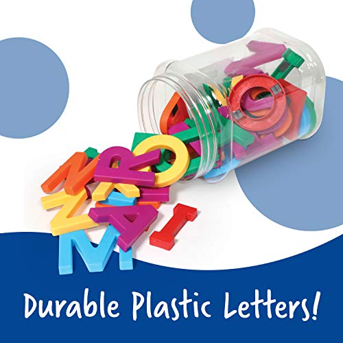 Learning Resources Jumbo Magnetic Uppercase Letters, ABCs, Early Letter Recognition, 40-Pieces, Large Magnetic Letters, Assorted Colors, Ages 3+ Photo #8
