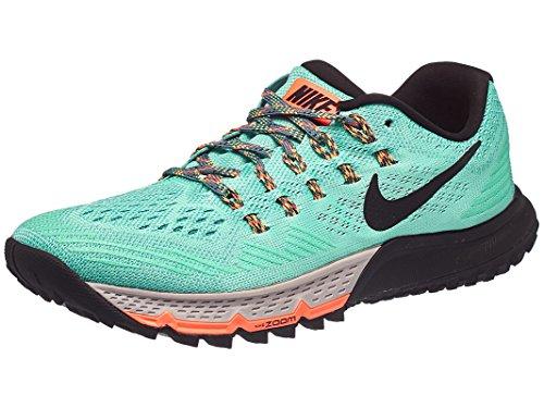 Nike Damen Air Zoom Terra Kiger 3 Laufschuhe, Mehrfarbig (Grün Glow/Schwarz/Orange/Weiß), 40.5 EU