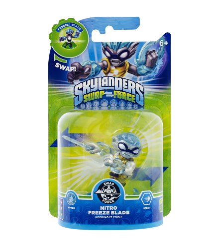 Skylanders Swap Force - Single Character - Swap Force - Nitro Freeze Blade (exklusiv bei Amazon.de)