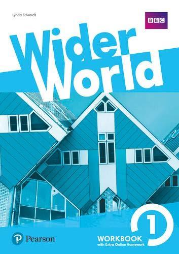 Wider World 1 Workbook with Extra Online Homework Pack: Vol. 1