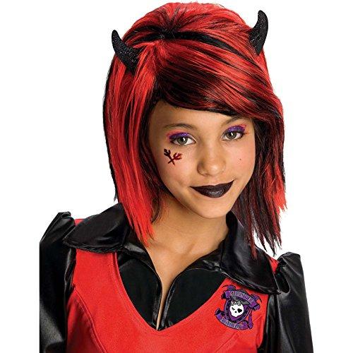 Rubie's-déguisement officiel - Monster High- Perruque luxe Howleen Wolf- I-51560