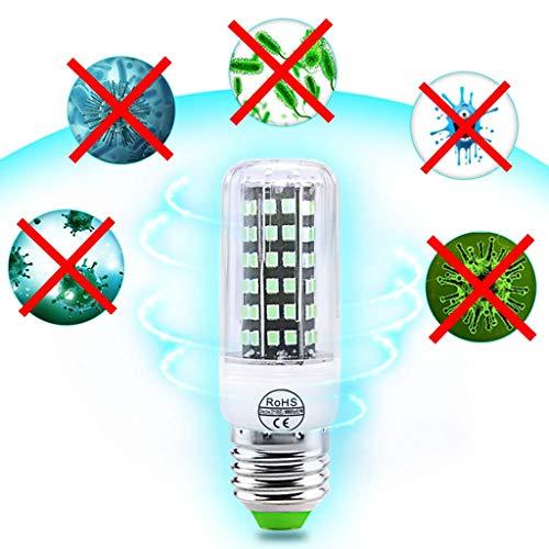 YHX 30W UV Germicidal Lampe E27 LED UVC Glühbirne Desinfektionslampe Sterilisator LED-Leuchten Home Clean Air Kill Milben