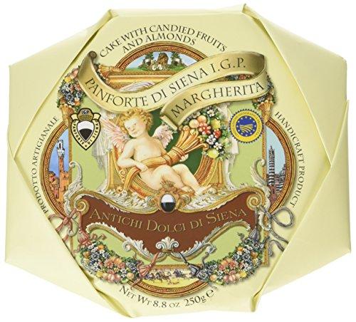 La Fabbrica Del Panforte Panforte di Siena Igp Margherita - 2 Confezioni da 250 g