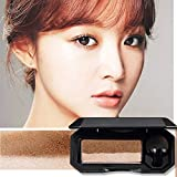 Perfect Dual-Color Eyeshadow, 3 Color, Highly Pigmented Eyeshadow with Exquisite Glitters and Smooth Texture, Waterproof Long-Lasting Eyeshadow Palette (#04 Earth Tones)
