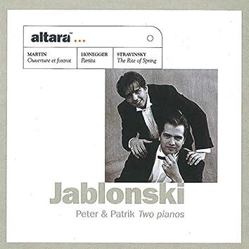 Jablonski: Peter & Patrik Two Pianos