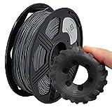 YOYI Filament TPU 1.75mm,TPU Filament 1.75mm,Flexible 3D Drucker Filament 1 kg,Maßgenauigkeit +/- 0.02mm (Grau)