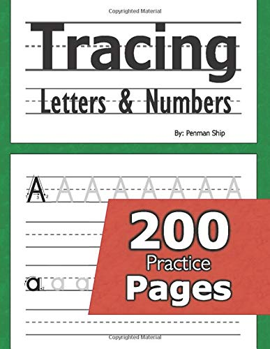 Compare Textbook Prices for Tracing Letters and Numbers : 200 Practice Pages: Workbook for Preschool, Kindergarten, and Kids Ages 3-5  ISBN 9781635785043 by Ship, Penman