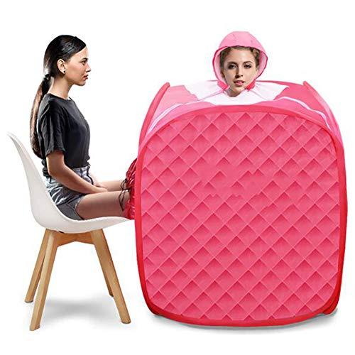 KUYT 1.5L portátil de Vapor Sauna Personal SPA, Sauna Cabina de Sauna Baño Caja Adelgaza la Cara de Cuerpo de Perder Peso móvil Habitaciones en Fold Presión Cabina de Sauna Aliviar