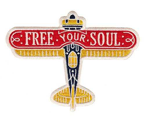 Asilda Store Embroidered Sew or Iron-on Patch (Free Your Soul)