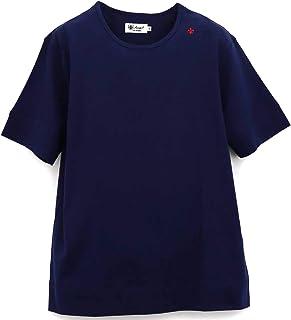 [Sweep!! LosAngeles スウィープ ロサンゼルス] メンズ コットン 半袖 クルーネックTシャツ BASIC T SHIRTS SL160001 NAVY(ネイビー)