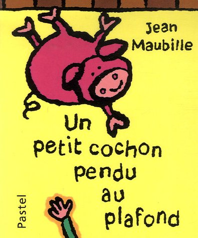 Petit cochon pendu au plafond (un)