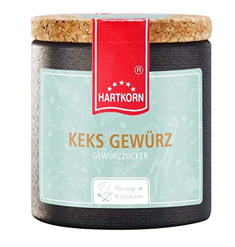 Keks Gewürz - 45 g in der Young Kitchen Pappwickeldose mit Korkdeckel von Hartkorn - wiederverschließbar und wiederbefüllbar