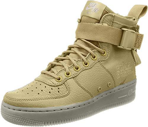 Nike da Donna W SF AF1?Mid Fitness Scarpe, Nero (Black/Black/Mtllc Silver/White), 42 EU