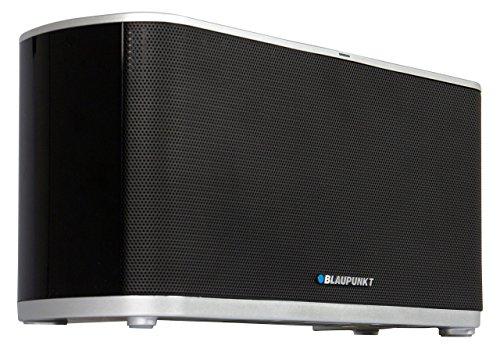 BLAUPUNKT BT 600 RD BL Bluetooth Lautsprecher mit NFC, eingebauter Akku, Powerbank Funktion zum Laden des Smartphones, Musikbox mit AUX-IN und Netzteil, Musikleistung 16 Watt (RMS)