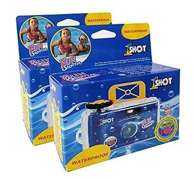 Disposable Single Use 35mm Film Camera One Shot Waterproof Fun Shooter 400 ASA/ISO 27 Exposures 2-Pack by Xiamen Xiangjiang Plasticity Co., Ltd.