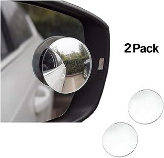 double face JMAHM regolabili per auto 2 paia di specchietti per punto cieco girevoli a 360/° convessi sinistra e destra
