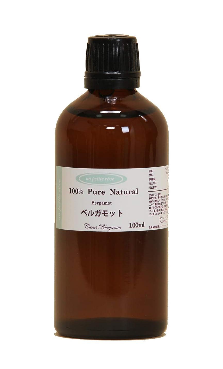 歯科医どうやって胚芽ベルガモット 100ml 100%天然アロマエッセンシャルオイル(精油)