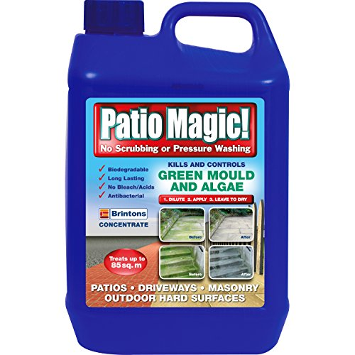 Patio Magic! Concentrate: Ideal for Patios, Paths and Driveways (Kills...
