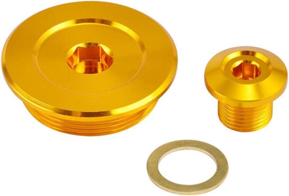 Color : Gold Apricot blossom El Tiempo c/árter del Motor Cubierta tap/ón en Forma for Kawasaki KFX KFX400 400 2003 2004 2005 2006 Suzuki DRZ DRZ 400R S//SM