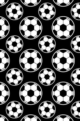 Fussball Muster - Torhüter Stürmer Fans Verein 26: Kariertes Notizbuch für Fußballspieler und Fußballfans