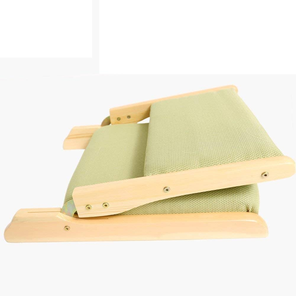 LJYY Denzihx Meditation Mats Floor Chair, Pliage Matériaux naturels [-Style] Bamboo Floating Window Chair-L J