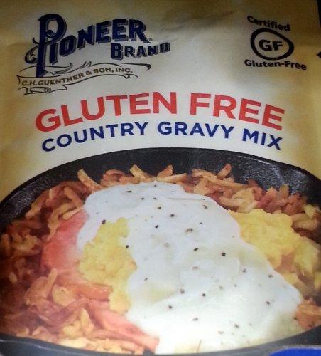 Pioneer Brand Gluten Free Country Gravy Mix 2.75 Oz (Pack of 6)