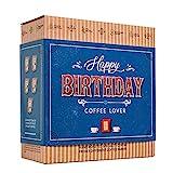 Caja de Cafe Gourmet Para Cumpleaños - Paquete de Degustación con 5 de Los Mejores Cafés Molidos Orgánicos Del Mundo | Para Prepararlo y Disfrutar Donde y Cuando Quiera | Regalo Para Hombre y Mujer