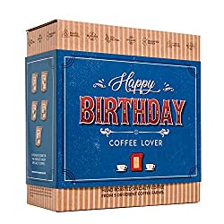 ✅ UNIQUE AND PREMIUM GIFT IDEA – Treat your loved ones with real indulgence - our innovative coffee gift set, special in every way compared to the usual wine or chocolate gifts. ✅ THE WORLD'S FINEST COFFEES – Travel a world of flavours with our singl...