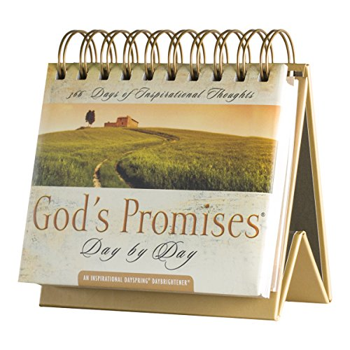 DaySpring God's Promises Day by Day, DayBrightener Perpetual Flip Calendar, 366 Days of Inspiration…