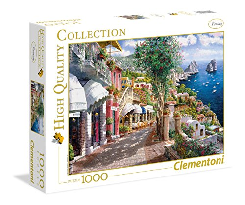 Clementoni- Capri Puzzle, 100 Pezzi, Multicolore, 1000, 39257