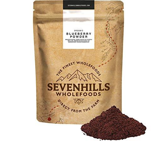 Sevenhills Wholefoods Blaubeeren (Heidelbeere) Pulver Bio 200g