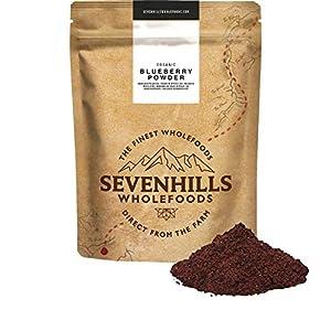 Sevenhills Wholefoods Arándano Azul En Polvo Orgánico, Liofilizados 200g