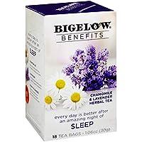 18-Count Bigelow Benefits Sleep Chamomile Lavender Caffeine-Free Herbal Tea