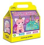 Creativity for Kids Cuddly Kitten Plush Toy - Kitty Stuffed...