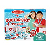 Melissa & Doug Get Well Doctor's Kit Play Set – 25 Toy Pieces