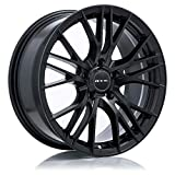 RTX Vertex Alloy Wheel/Rim Size 18x8 Bolt Pattern 5x114.3 Offset 40 Center Bore 73.1 Satin Black Center Caps Included Lug Nuts NOT Included (Rim Priced Individually)
