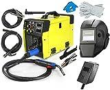 Soldador MIG IGBT 250A MAG MMA FCAW Inverter Soldador - Gas y Gas - Euro Torch