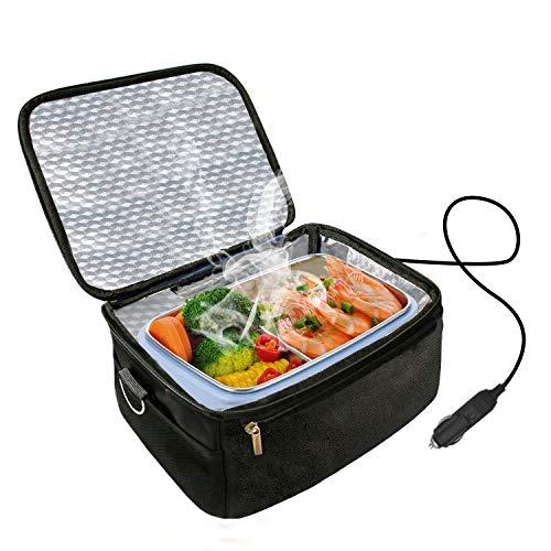 Calentador horno almuerzo portátil automóvil 12