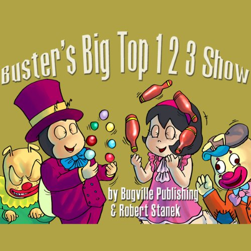 Buster's Big Top 1 2 3 Show cover art
