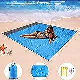 Picnic Mat manta de la playa al aire libre Colchón de camping al aire libre alfombra de picnic portátil a prueba de agua Manta Beach Mat bolsillo alfombra de picnic al aire libre tienda de campaña col