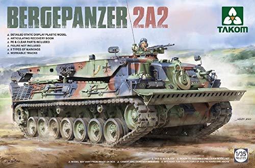 Takom TAK2135 2135 Bundeswehr Bergepanzer 2A2/LS 1:35