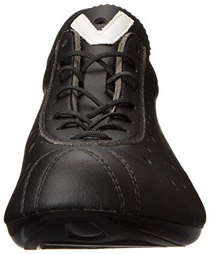 Vittoria 1976 Classic Look, Zapatillas de Ciclismo Hombre, Negro, 42.5 EU