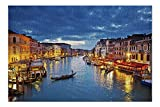 Grand Canal at Night, Venice, Italy A-91432 (Premium 1000 Piece Jigsaw Puzzle for Adults, 20x27, Made in USA!) Product measures 20 x 27 inches, 1000 Pieces 100% Made in USA! Premium archival paper and ink - 1/16 inch thick grade A Chipboard Browse th...
