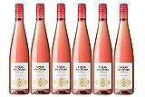 Viñas Del Vero Pinot Noir Rosado - Vino D.O. Somontano - 6 Botellas de 750 ml - Total : 4500 ml